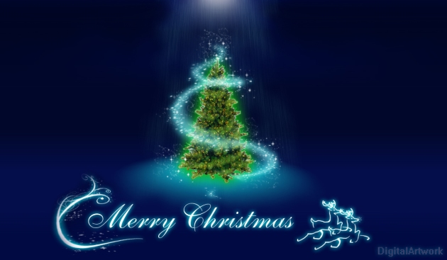 We Love Digital Artwork: Merry Christmas e-card/ felicitari Craciun